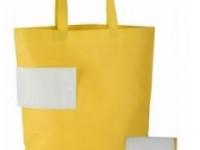 Zložljiva nakupovalna vrečka iz netkanega materiala