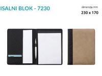 PISALNI BLOK 7230